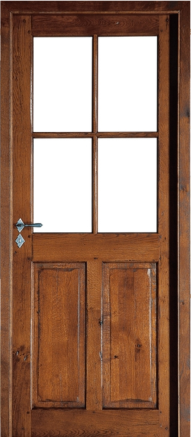 Ro2047 for Porte de service bois vitree